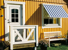 Cornwall domestic windo awnings